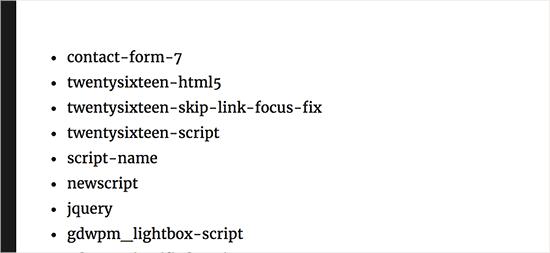 《禁用插件的CSS文件和JavaScript的教程》
